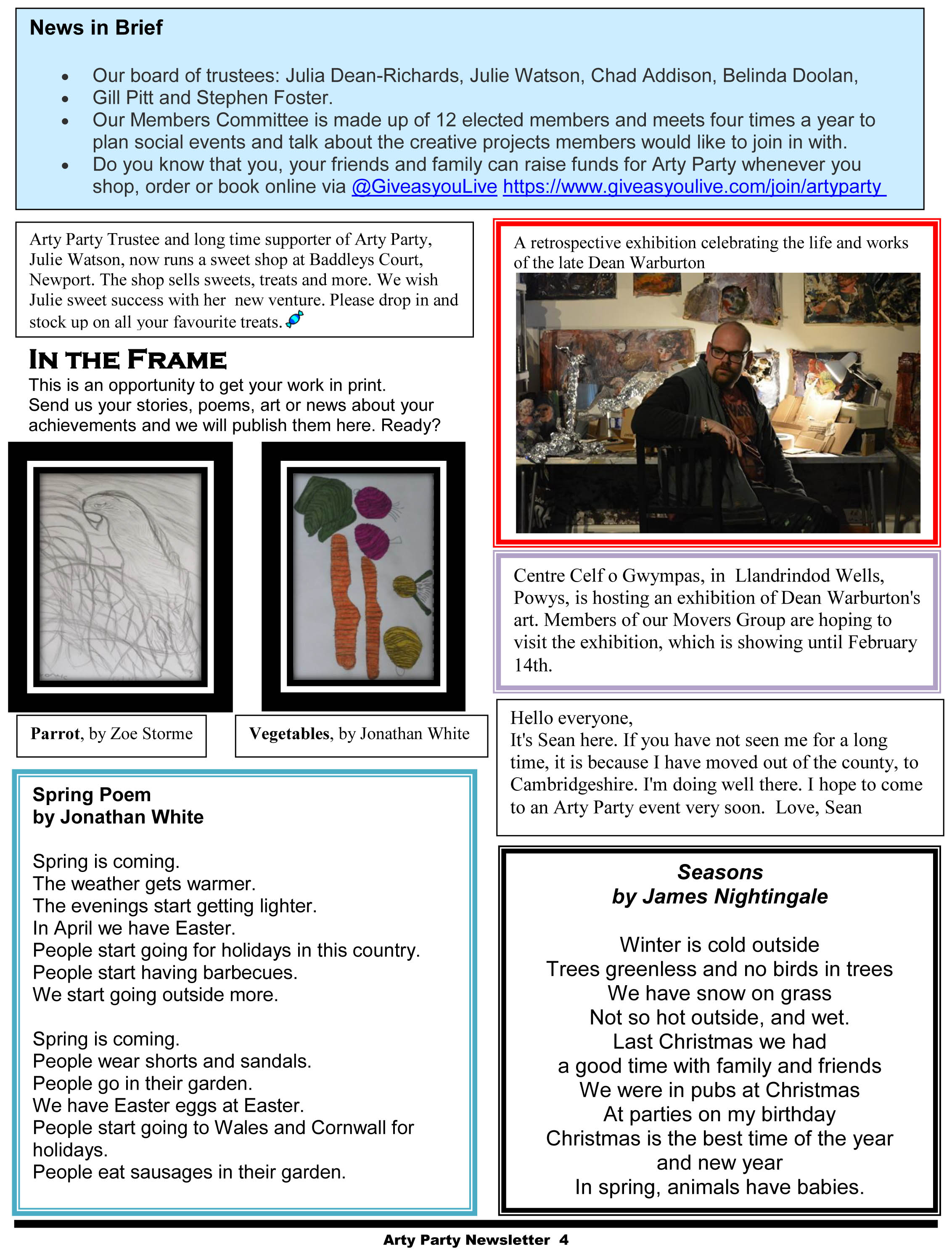 Arty Party Newsletter 170117-4